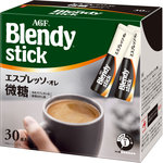 ※「ブレンディ」スティック エスプレッソ・オレ微糖 201g(6.7g×30本)