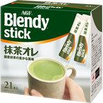 「ブレンディ」スティック 抹茶オレ 210g(10g×21本)