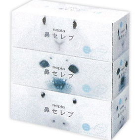 ネピア 鼻セレブ ティシュ 400枚(200組)×3個
