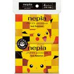 ネピアJAPAN premium feat. Pokemon ポケットティシュ 20枚(10組)×4個