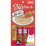 <CIAO ちゅ~る> まぐろ&タラバガニ 14g×4本