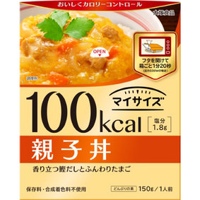 ※100kcal マイサイズ 親子丼 150g