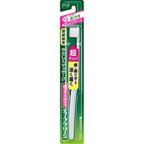 ディープクリーン ハブラシ 超コンパクト ふつう ブルー/グリーン/ピンク 1本