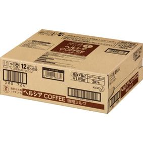 ※ヘルシアコーヒー 微糖ミルク 185g×30本