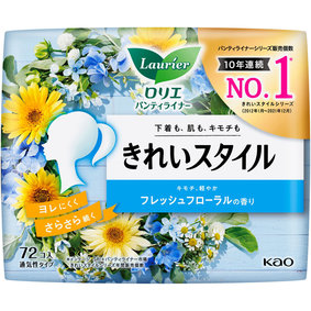 ロリエ きれいスタイル フレッシュフローラルの香り 72個