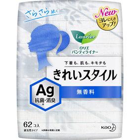 ロリエ きれいスタイル AG 無香料 62個