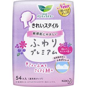 ロリエ きれいスタイル ふわりプレミアム 摘みたてカシスの香り 54個