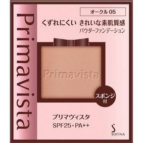 プリマヴィスタ くずれにくい きれいな素肌質感 パウダーファンデーション オークル05 9g