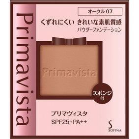 プリマヴィスタ きれいな素肌質感パウダーファンデーション オークル07 9g