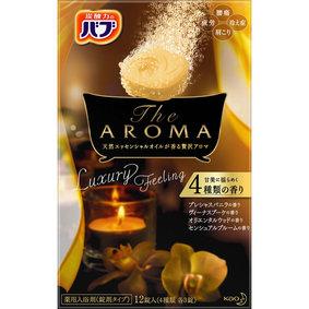 バブTheAROMA Luxury Feeling 12錠