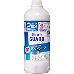 ビオレガード薬用泡ハンドソープ無香料 つめかえ用 400mL