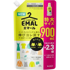 エマール リフレッシュグリーンの香り つめかえ用 900mL