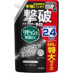 リセッシュ 除菌EX デオドラントパワー 香りが残らないタイプ つめかえ用 特大サイズ 680mL