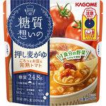 糖質想いの 押し麦がゆ ごろっとお豆と完熟トマト 250g