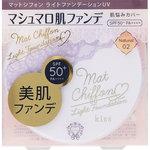キス マットシフォン ライトファンデーションUV 02 Natural 10g