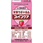 ジャネフ 栄養サポート食品 ファインケア いちご味 125mL