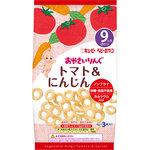 キユーピー おやつ おやさいりんぐ トマト&にんじん 4g×3袋