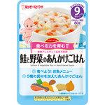 キユーピー ベビーフード ハッピーレシピ 鮭と野菜のあんかけごはん 80g