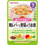 キユーピー ベビーフード ハッピーレシピ 鶏レバーと野菜のうま煮 80g