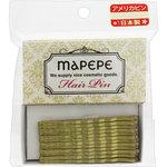 マペペ アメリカピン ゴールド 1個