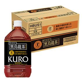 サントリー 黒烏龍茶 脂肪の吸収を抑える 特保 1L×12本