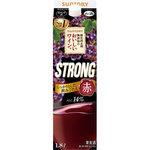 サントリー 酸化防止剤無添加のおいしいワイン。ストロング 赤 1.8L