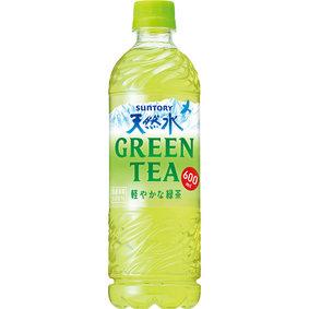 サントリー天然水 GREEN TEA 600mL