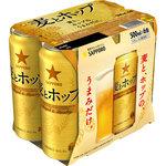 サッポロ 麦とホップ 500mL×6缶