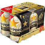 サッポロ GOLD STAR 350mL×6缶