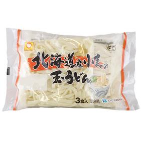 ※北海道産小麦の玉うどん 180g×3個