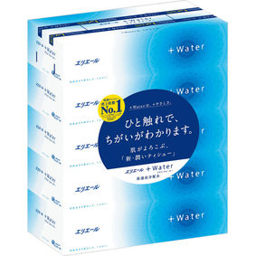 エリエール+Water 180組×5箱