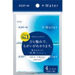 エリエール+Water(ポケット) 14組28枚×4パック