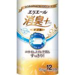 エリエール 消臭+トイレットティシュー(ダブル) 12ロール