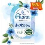 Puana(ピュアナ)ウエットティシュー 純水99% つめかえ用 62枚×3個