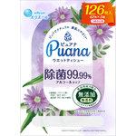 エリエールPuana(ピュアナ)ウエットティシュー除菌99.99% アルコールタイプ つめかえ用 42枚×3個