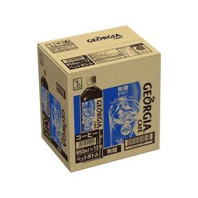 ※ジョージア ボトルコーヒー 無糖 950mL×12本