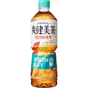 ※爽健美茶 健康素材の麦茶 600mL