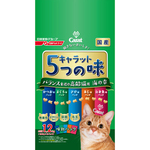 キャラット・5つの味 <海の幸 高齢猫用> 1.2kg(240g×5袋)