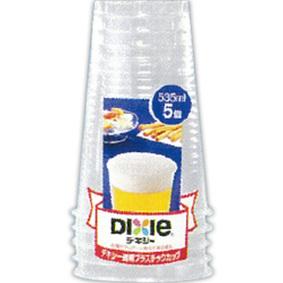 透明プラスチックカップ 535mL 5個