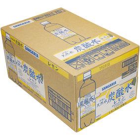 伊賀の天然水炭酸水レモン 500mL×24本