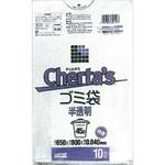 チェルタス ゴミ袋 厚口 45L 白半透明 10枚