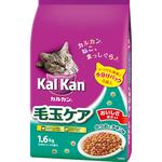 カルカン ドライ 成猫用 毛玉ケア かつおとチキン味 1.6kg