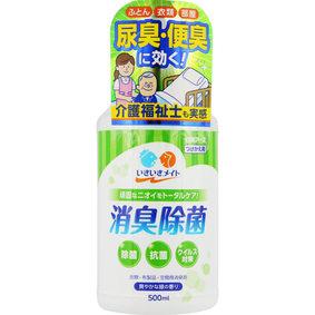 いきいきメイト 消臭除菌スプレー 爽やかな緑の香り つけかえ 500mL