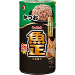 キャネット <魚正> かつお 480g(160g×3缶)