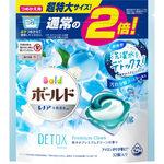 ボールド ジェルボール3D 爽やかプレミアムクリーンの香り つめかえ用 超特大サイズ 586g(32個)