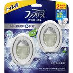 ファブリーズW消臭 トイレ用消臭剤+抗菌 ナチュラル・マウンテン・エア 6mL×2個