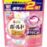 ボールド ジェルボール3D 癒しのプレミアムブロッサムの香り つめかえ用 超特大サイズ 34個