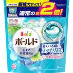 ボールドジェルボール3D 爽やかプレミアムクリーンの香りつめかえ用 超特大サイズ 656g(34個)