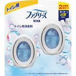 ファブリーズW消臭 トイレ用消臭剤 ブルー・シャボン 6mL×2個