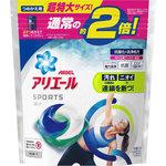 アリエールジェルボール3D プラチナスポーツ つめかえ用 超特大サイズ 501g(26個)